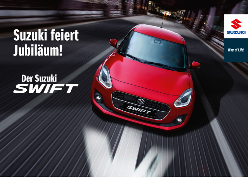 Suzuki feiert JUBILÄUM!