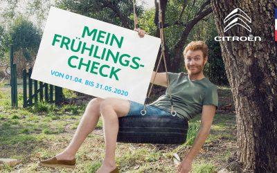 Citroën FRÜHLINGS-CHECK