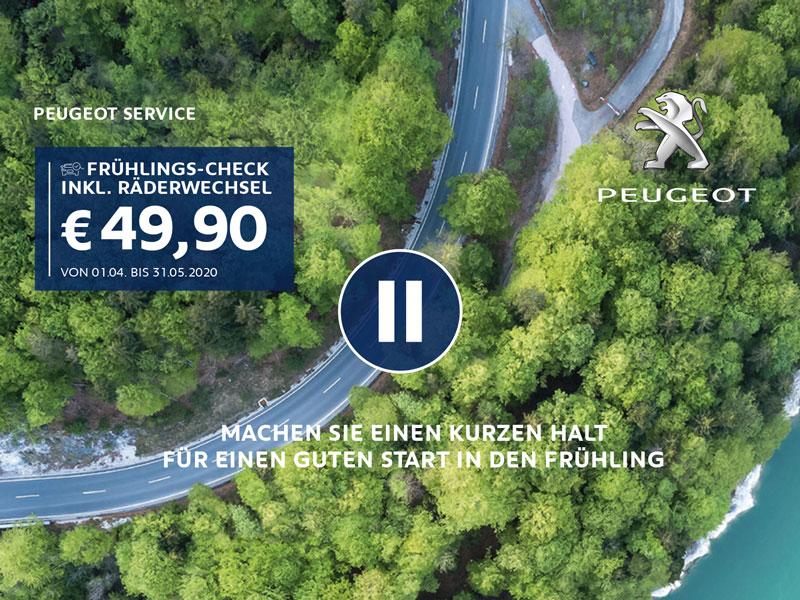 Peugeot FRÜHLINGS-CHECK