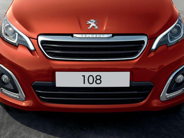 Peugeot 108 Außendesign