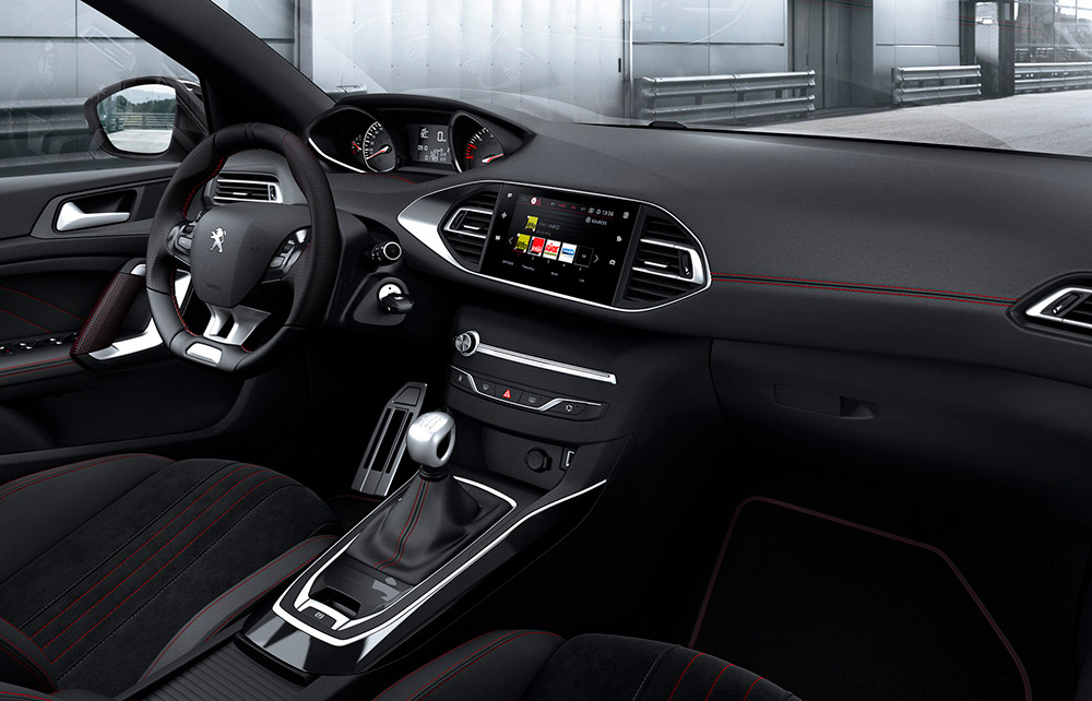 Peugeot 308 SW Innendesign
