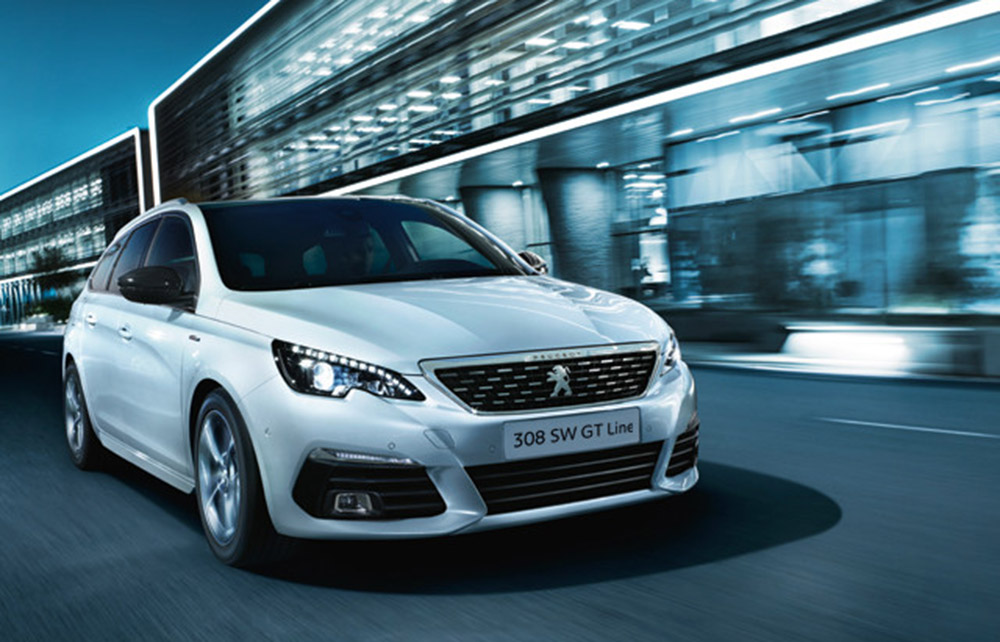 Peugeot 308 SW Frontansicht