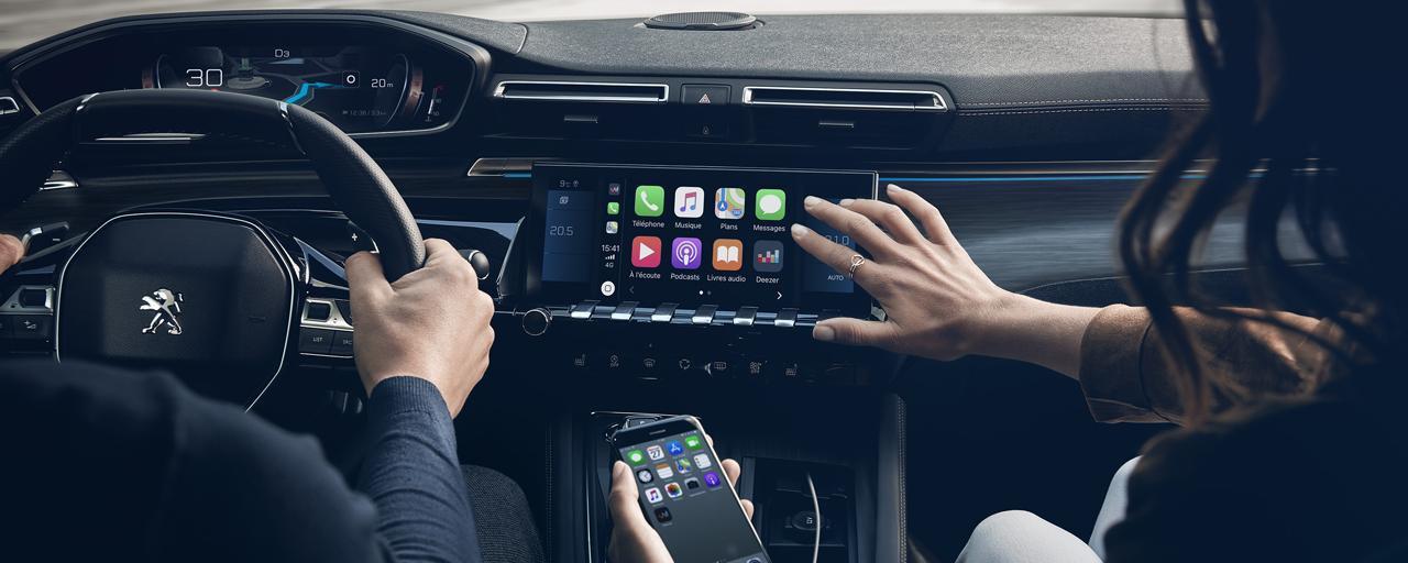 Peugeot 508 Apple CarPlay