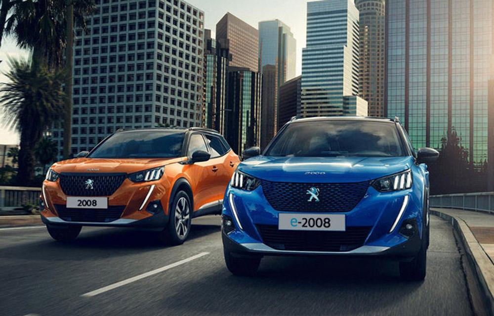 Peugeot e-2008 SUV und 2008 SUV