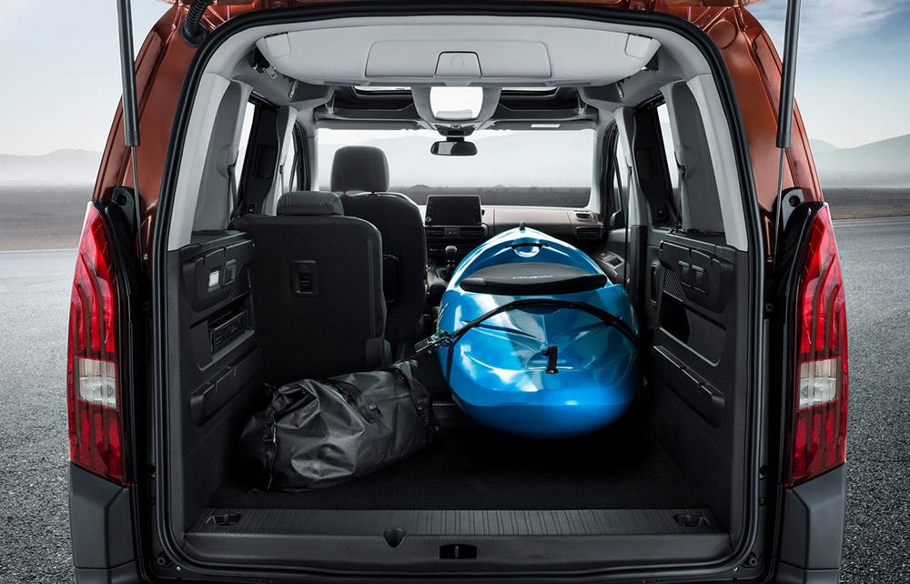 Peugeot Rifter Kofferraum