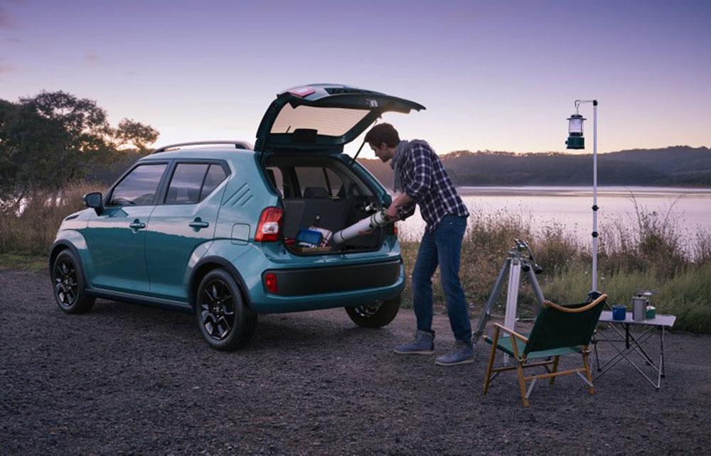 Suzuki Ignis Kofferraum