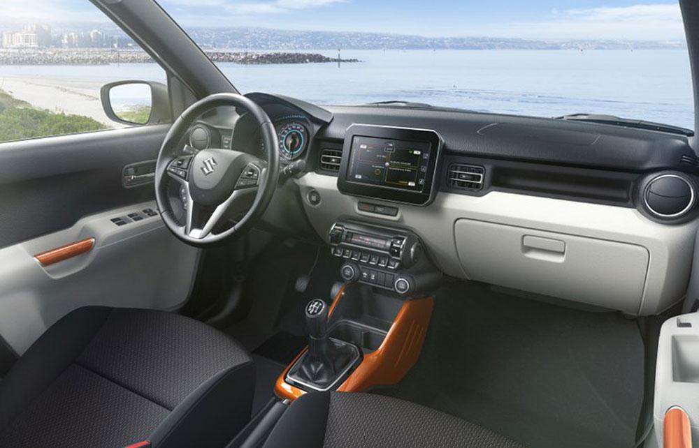 Suzuki Ignis Innendesign