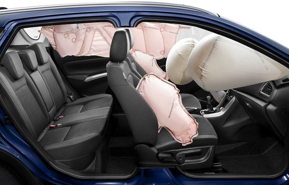 Suzuki SX4 S-CROSS Airbags