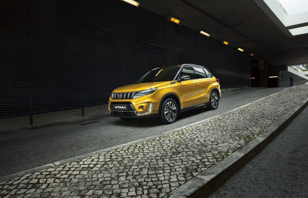 Suzuki Vitara Hybrid Seitenansicht