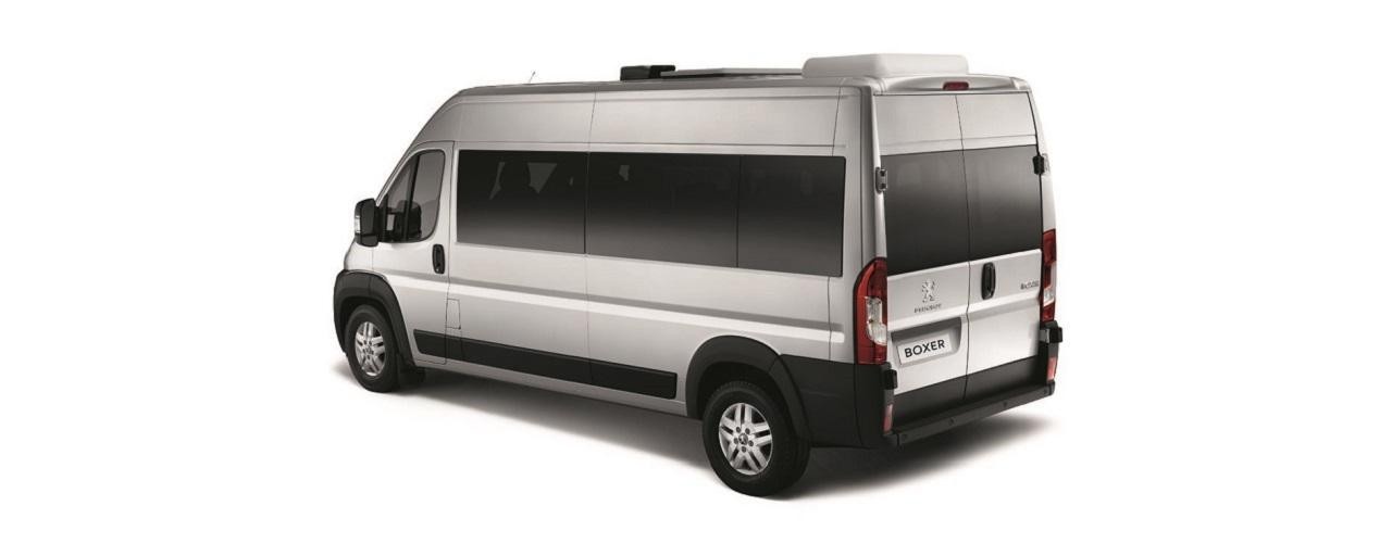 Peugeot Boxer Umbauten lang mit Fenster