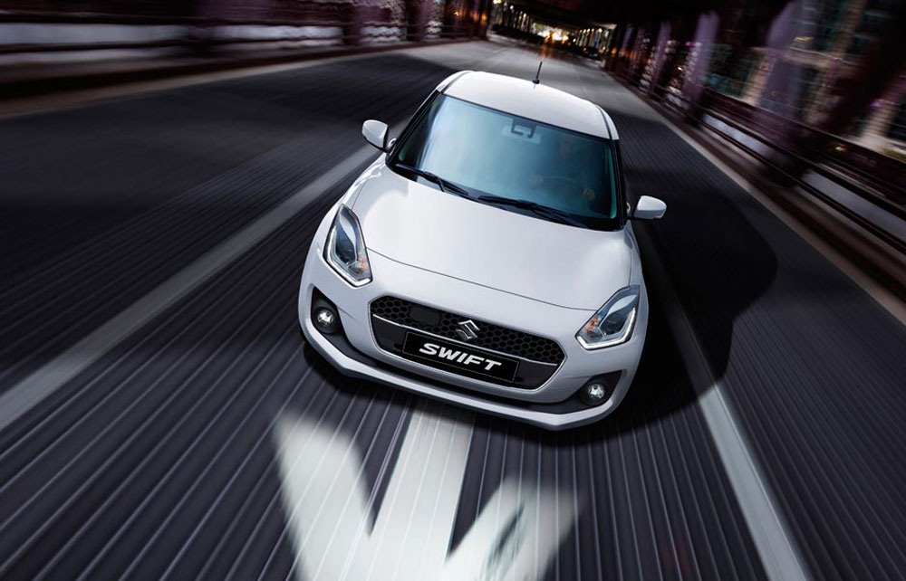 Suzuki Swift Pure White Pearl Metallic