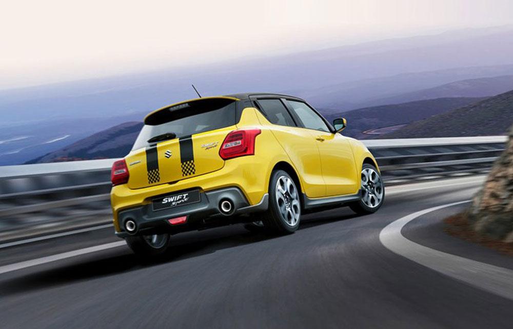 Suzuki Swift Sport Heckansicht