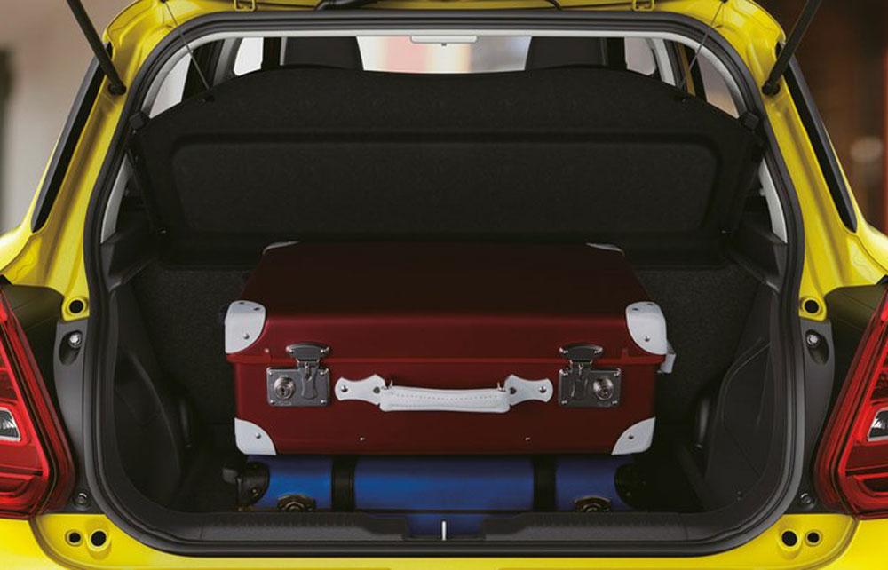 Suzuki Swift Sport Kofferraum