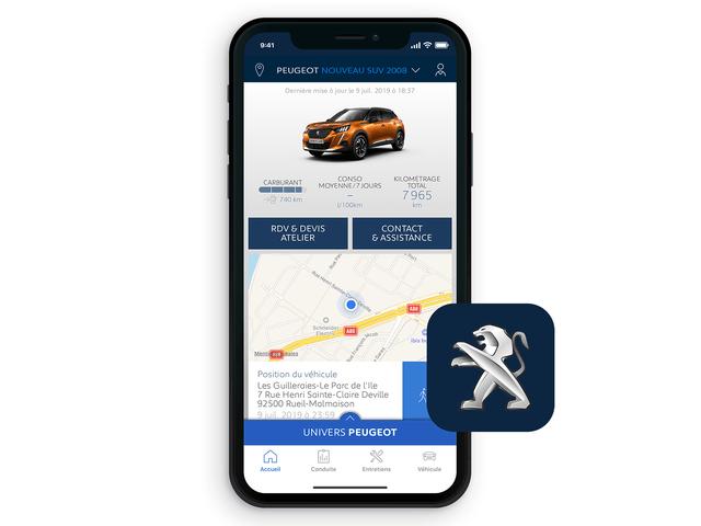 Peugeot 2008 App