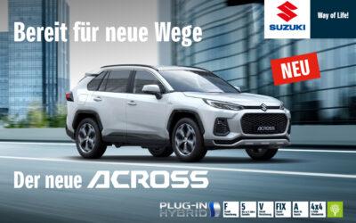 NEU: Suzuki Across