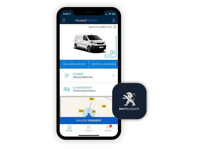 Peugeot e-Expert App
