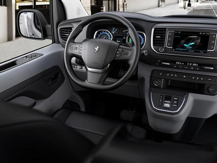 Peugeot e-Expert hoher Fahrkomfort