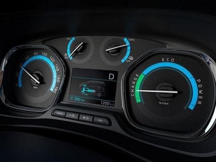 Peugeot e-EXPERT Fahrtinformation