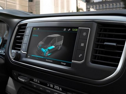 Peugeot e-Expert 3 Fahrmodi