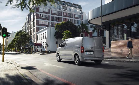 Peugeot e-Expert Bremsmodi