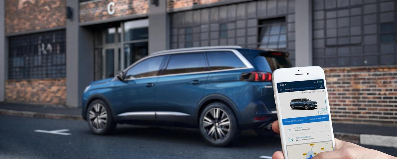 Neuer Peugeot 5008 App