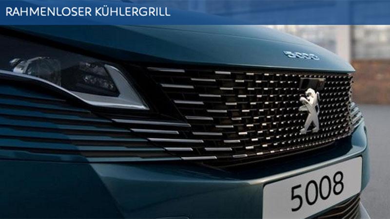 Peugeot NEU 5008 rahmenloser Kühlergrill