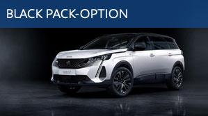 Peugeot NEU 5008 Balck Pack-Option