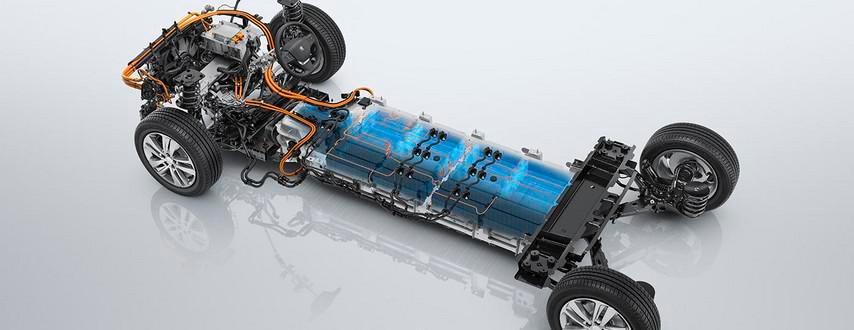 Leistungsstarke Batterie