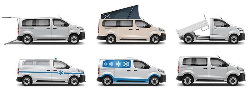 Peugeot Expert Umbauten