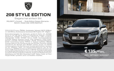 Peugeot 208 Style Edition