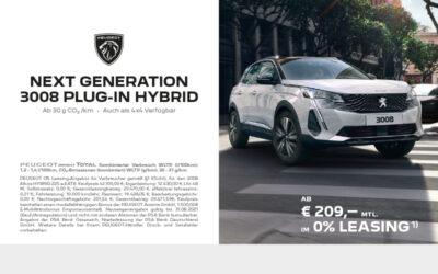 Peugeot Next Generation 3008 Plug-in Hybrid