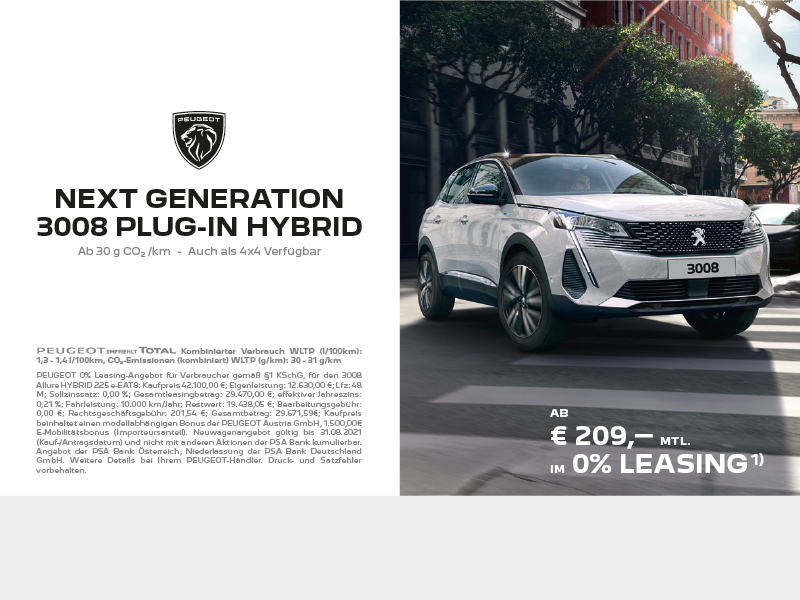 Peugeot Next Generation 3008 Hybrid
