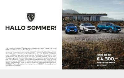 Peugeot – hallo Sommer!