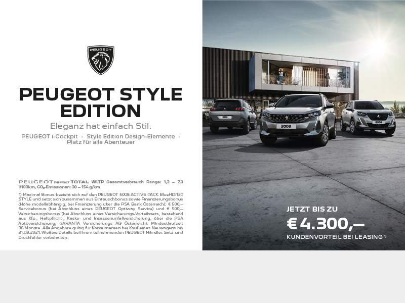 Peugeot Style Edition