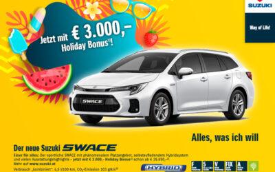 Suzuki SWACE Holiday Bonus